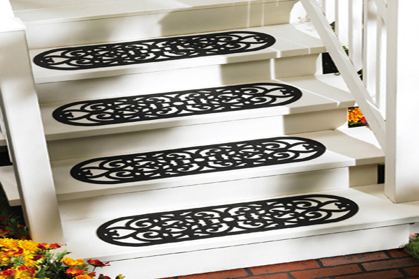 RUBBER STEP MAT GRILL DESIGN